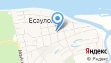 Есауловская врачебная амбулатория на карте