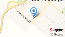 КрасЗападСибСтрой на карте
