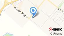 Юниор на карте