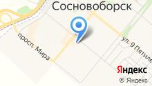 Сибирская Оконница на карте