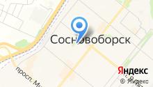 Дэн на карте