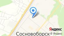 Сосновоборский автомеханический техникум на карте