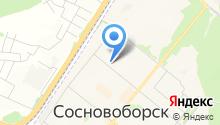 Сосновоборский городской суд на карте