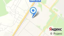 Сосновоборец на карте