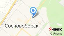Общественная приемная депутата городского совета г. Сосновоборска Бойкова А.П. на карте