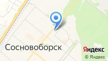Красломбард на карте
