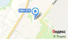 Шиномонтажная мастерская на Заводской на карте