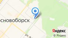 Отдел судебных приставов по г. Сосновоборску на карте