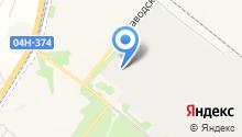Автоприцепы Сибтрал на карте