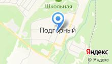 Сосна на карте