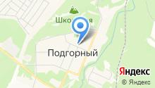 Управление поселковыми территориями Администрации г. Железногорска на карте