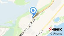Железногорская Городская Федерация Пейнтбола на карте