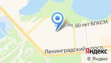 Средняя общеобразовательная школа №90 на карте