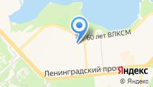 Монэ на карте
