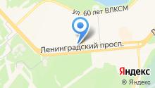 Русская авоська на карте