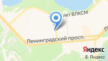 СИА на карте