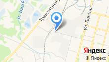 АЗС КБП на карте
