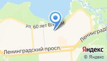 Аварийно-диспетчерская служба ГЖКУ на карте