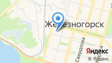 Управление пенсионного фонда в г. Железногорске на карте