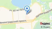 Центр досуга, МБУК на карте