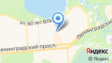 Центр досуга на карте
