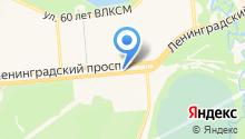 ЮС на карте