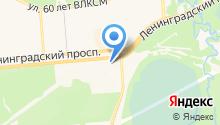 КИТ - центр мебели на карте