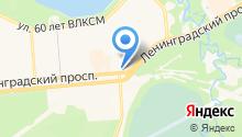 Магазин швейных машин на карте