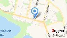 Магазин кроватей и матрасов на карте