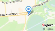 Управление ГО и ЧС и режима закрытого административно-территориального образования г. Железногорск на карте