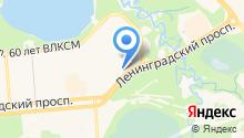 Торекс на карте