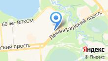Авторитет+ на карте