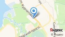Уютерра на карте