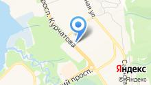 Эридан, ЗАО на карте