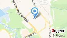 Средняя общеобразовательная школа №95 на карте
