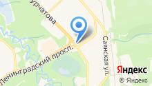 TONUS на карте