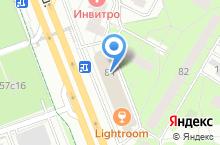 На карте