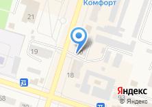 Компания «Ваш любимый магазин» на карте