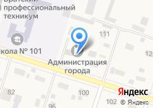 Компания «ЗАГС Братского района» на карте