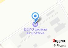 Компания «Дорожная служба Иркутской области» на карте