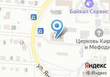 Компания «ОРТПЦ Иркутский областной радиотелевизионный передающий центр» на карте