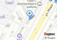 Компания «ПромСервисБанк» на карте