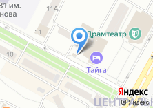 Компания «Ангара» на карте