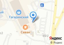 Компания «Шиномонтажный комплекс на Гагарина» на карте