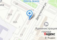 Компания «ИОКА» на карте