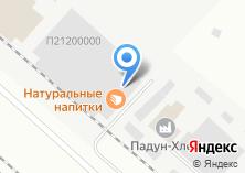 Компания «Натуральные напитки» на карте