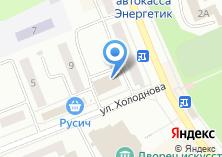 Компания «ТехДорСтрой» на карте