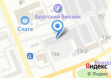 Компания «Mustang» на карте