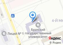 Компания «БрГУ» на карте