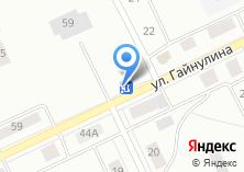 Компания «Продовольственный магазин на Гайнулина» на карте